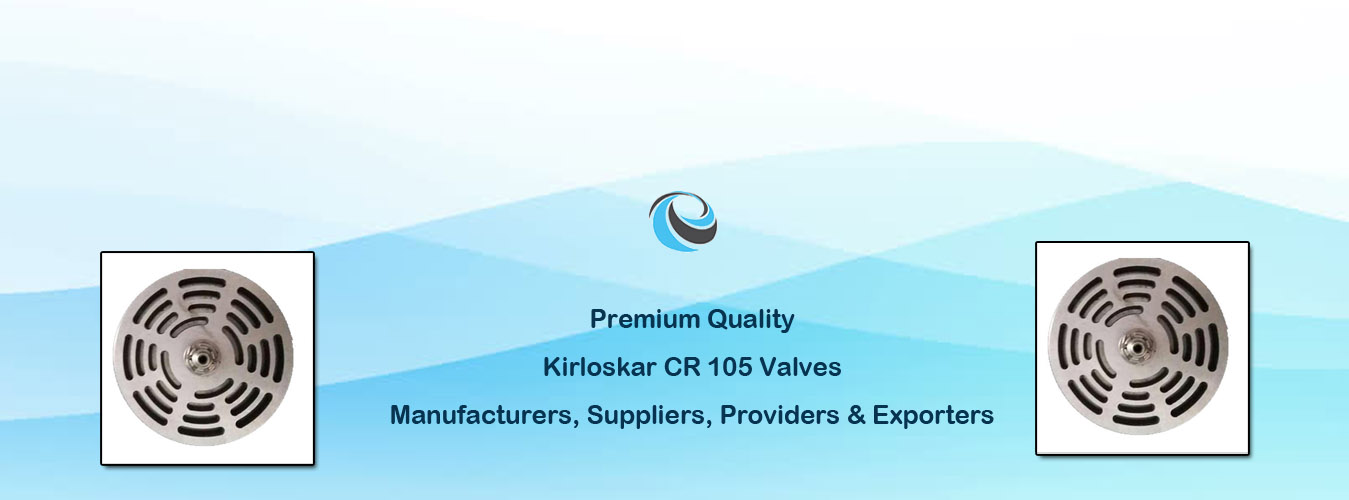 Kirloskar CR 105 Valves
